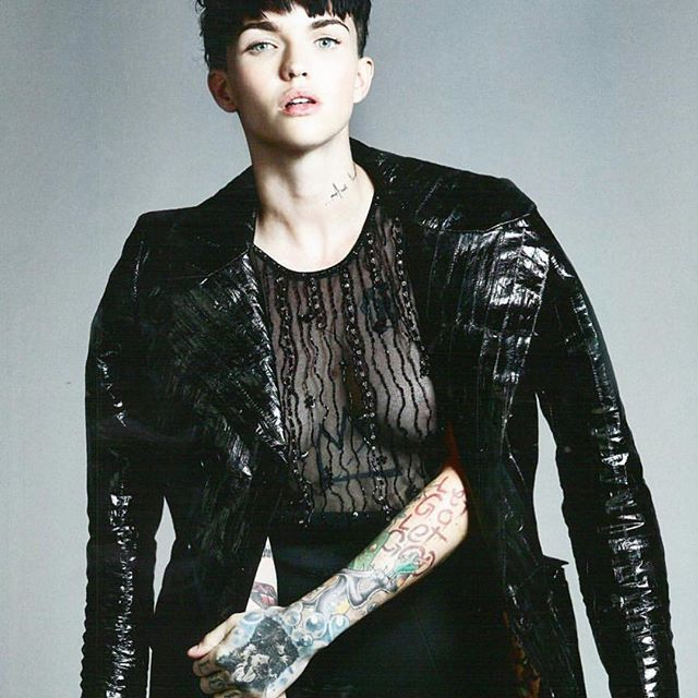 Ruby Rose See Through Pho...
