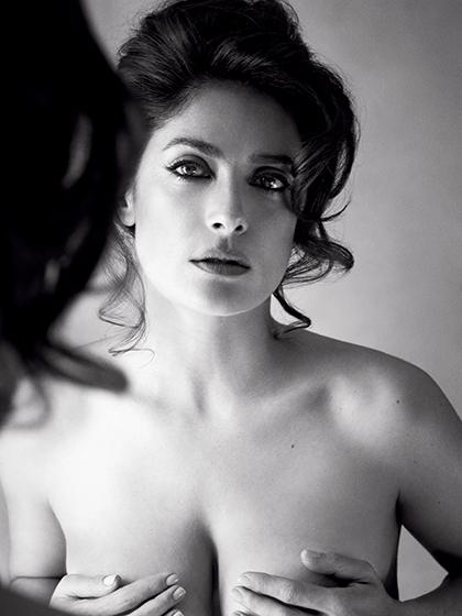 Salma Hayek Topless Pic