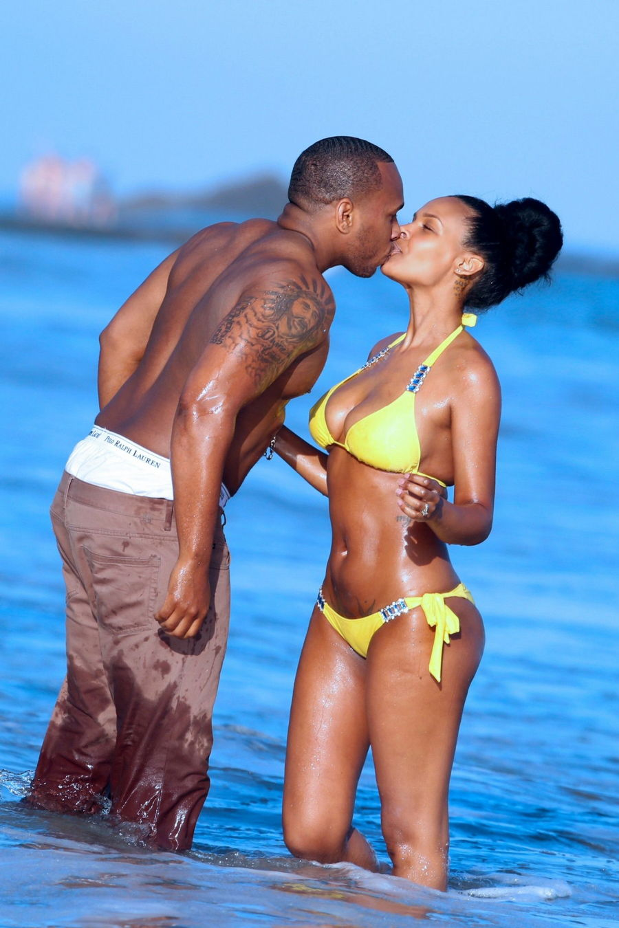 Samantha Mumba Bikini Pic...