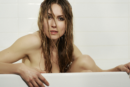 Sarah Carter Bathroom Pho...