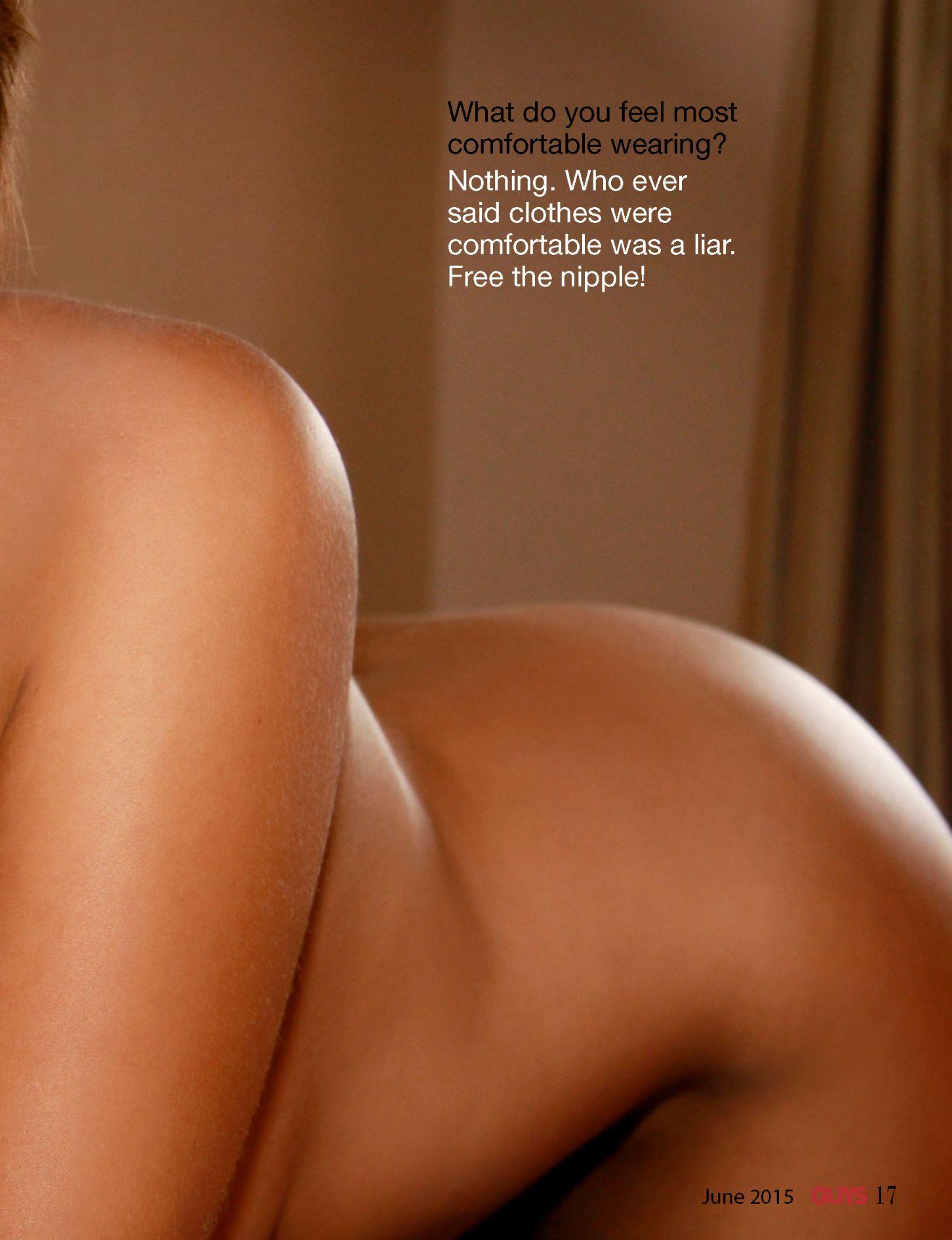 Sarah Harris Topless Phot...