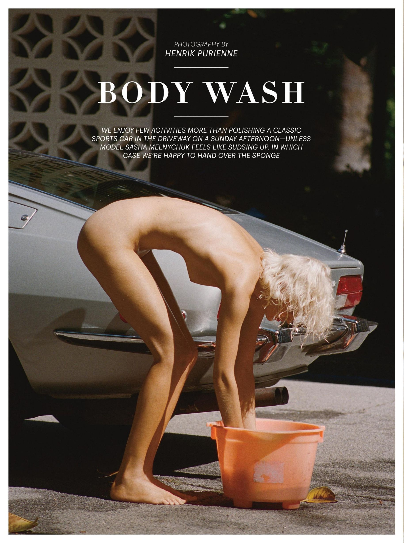 Sasha Melnychuk Naked Pic...
