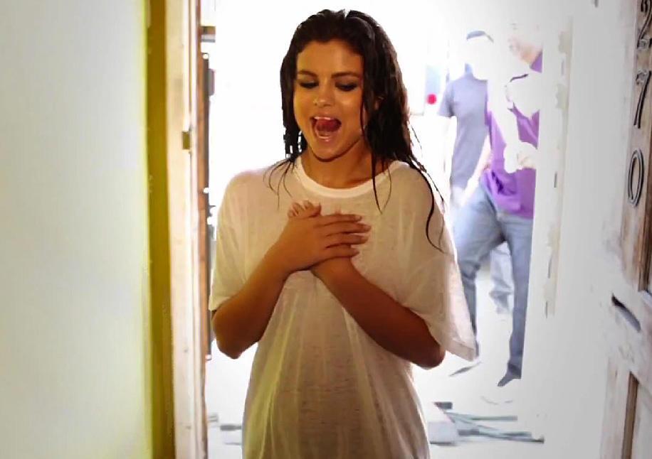 Selena Gomez Bts Pics