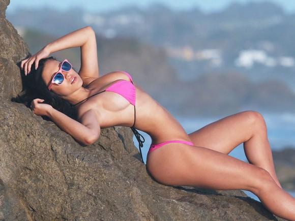 Stefanie Knight Pink Biki...