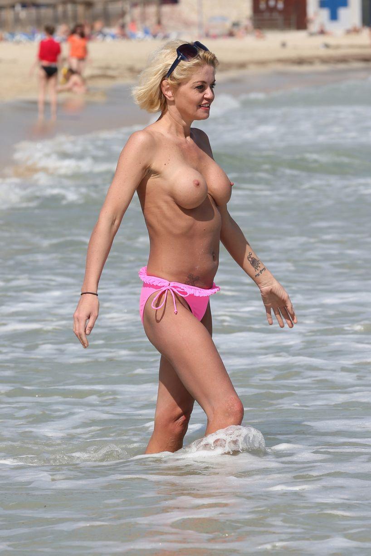 Topless Danniella Westbro...