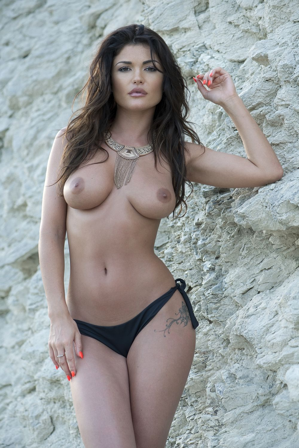 Topless India Reynolds 1