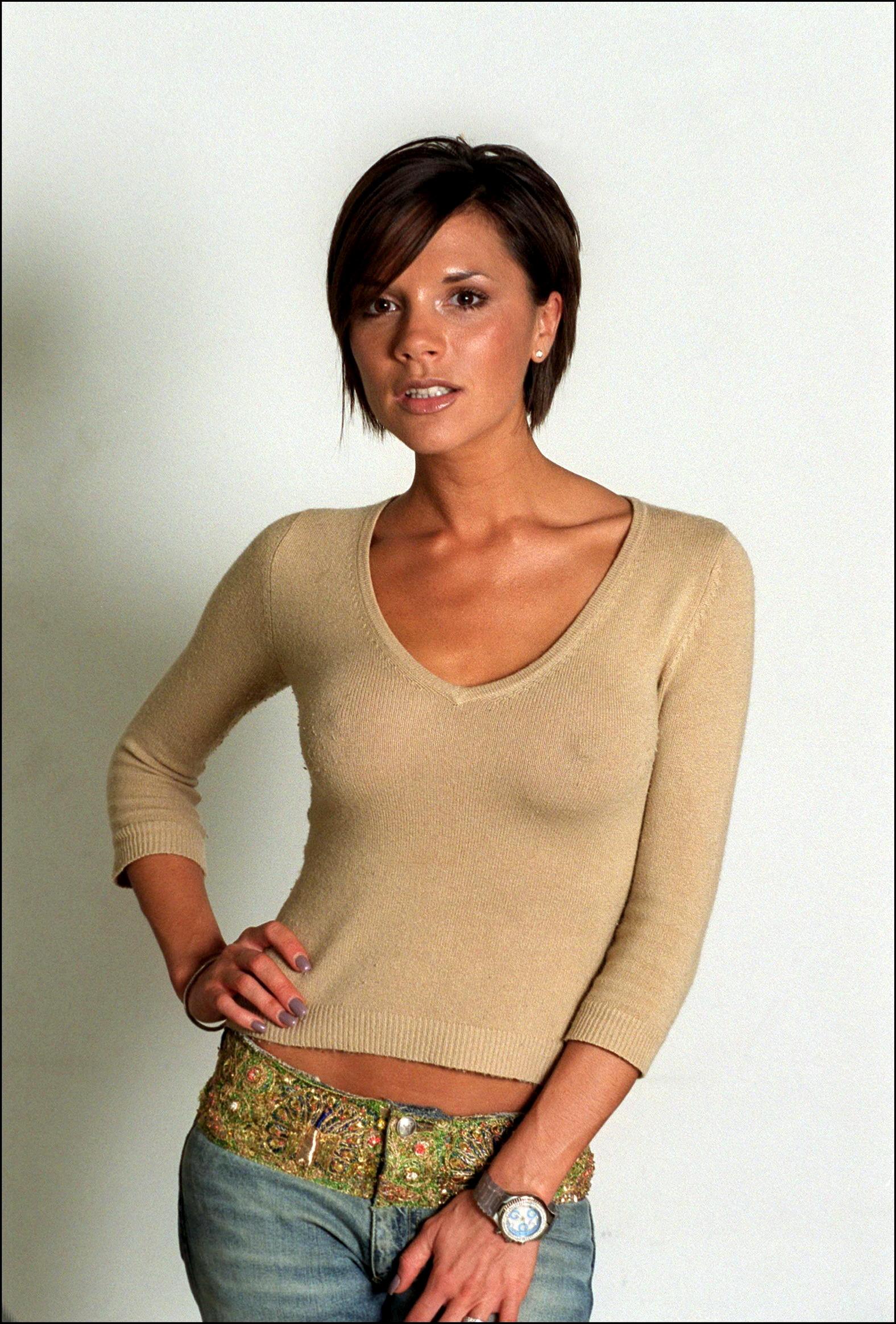 Victoria Beckham See-thru...