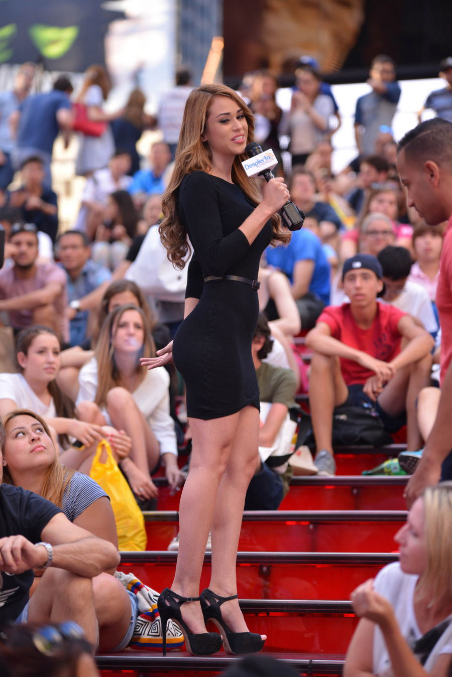 Yanet Garcia Tight Dress ...