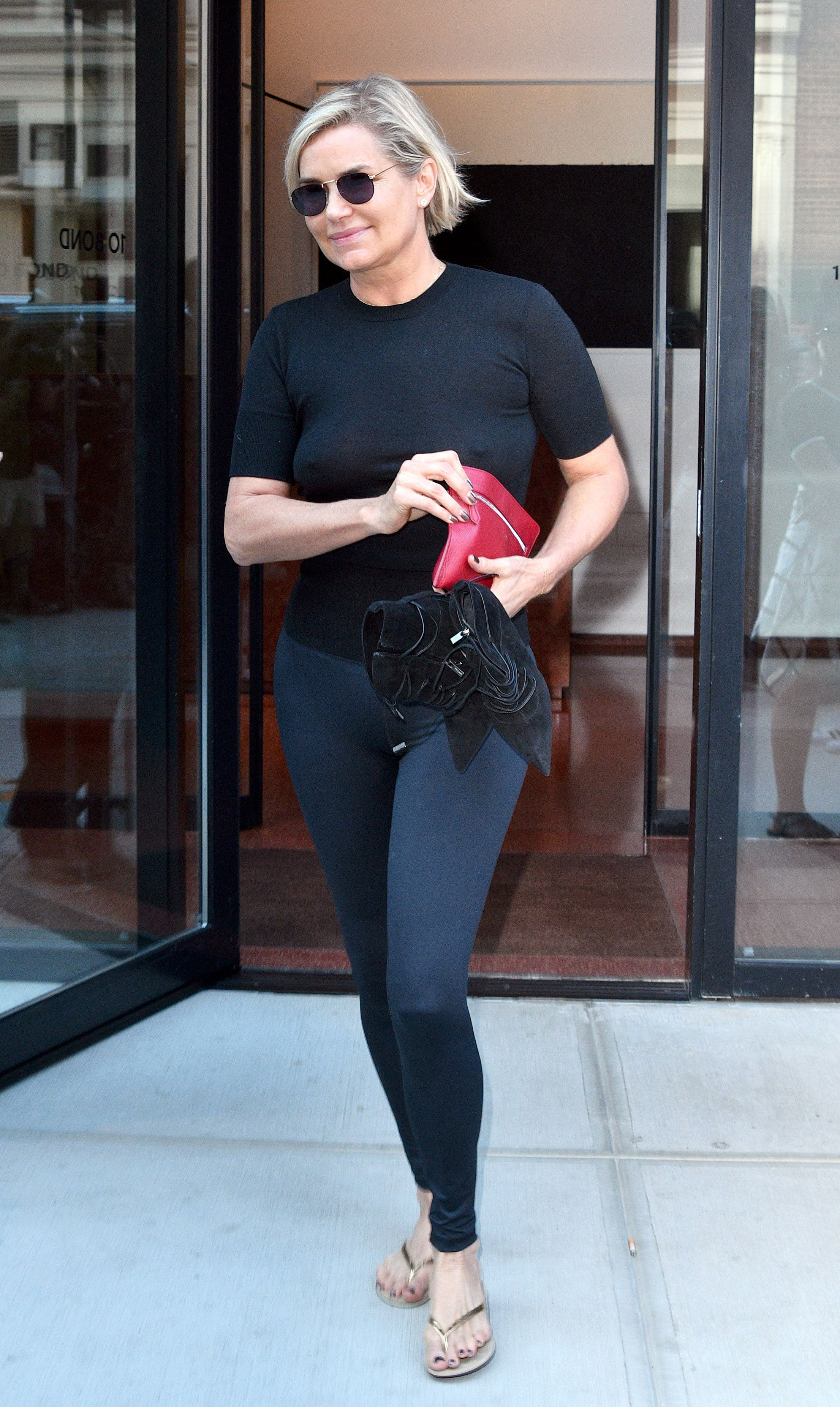 Yolanda Hadid See-through...
