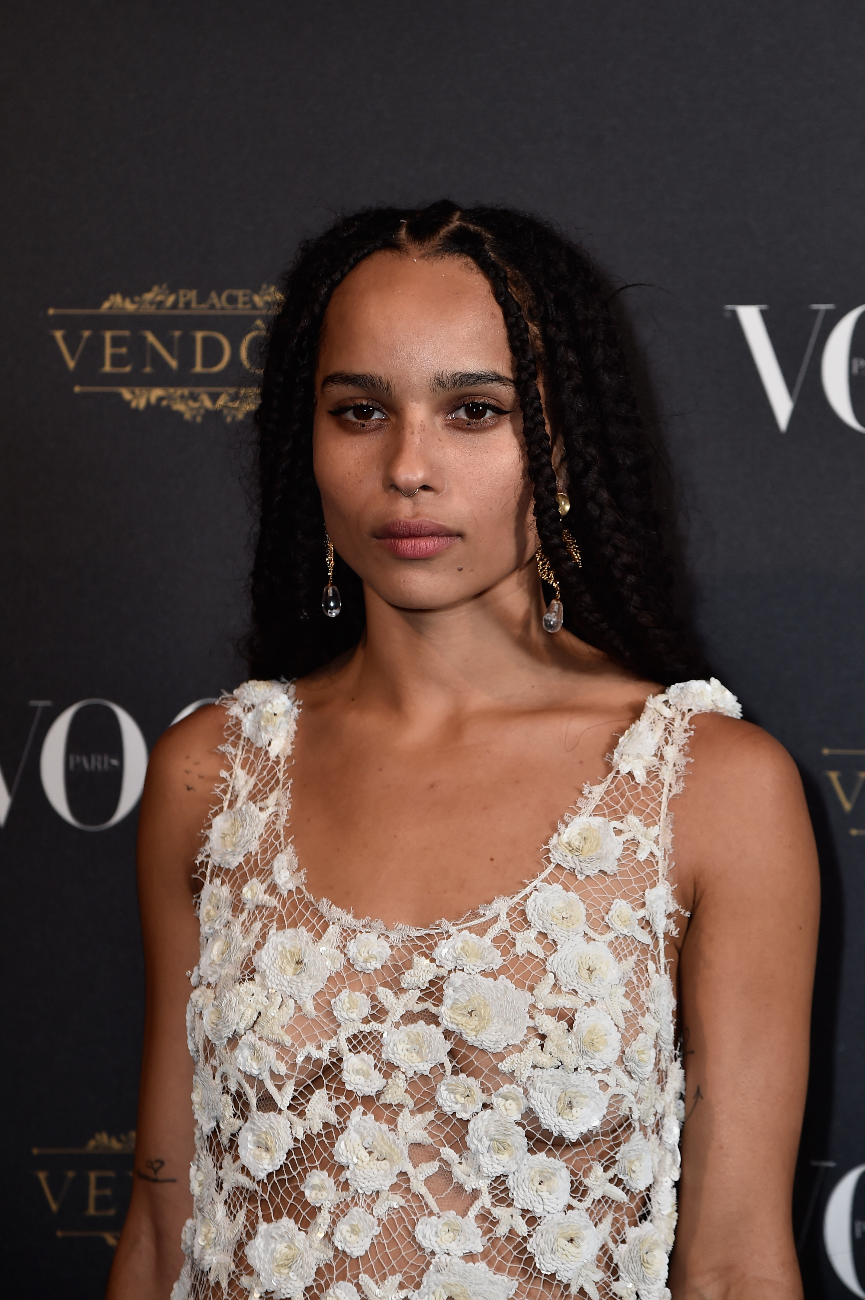Zoe Kravitz See-through P...