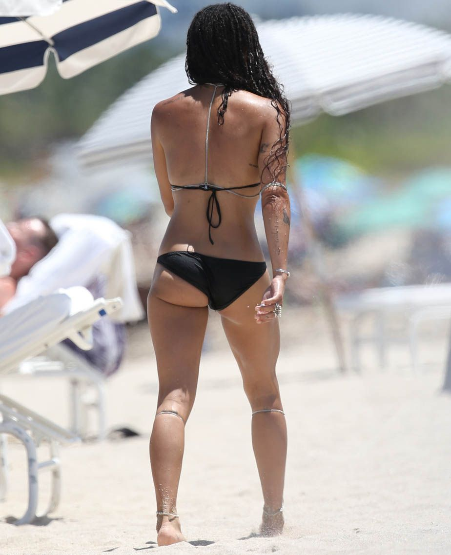 Zoe Kravitz In A Bikini