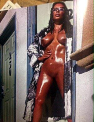 Kim Kardashian Uncensored...