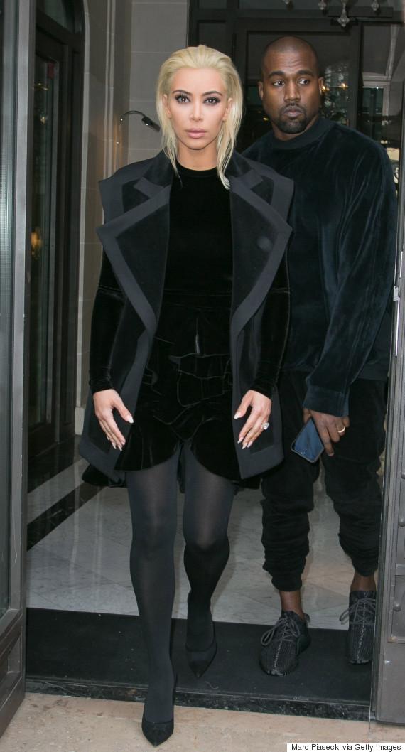 Kim Kardashian Blonde 201...